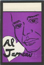Al Jarreau 1988 Backstage Pass All Access Purple