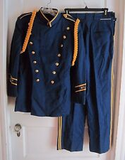 Vintage 50s Mid Century Marching Band Uniform Jacket Belfast High School Maine