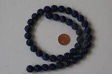Lapis Lazuli-Strang (MELONCUT-A-10mm) J-0294/J