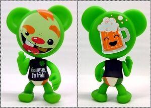 The Swear Bears IRISH Leprechuan BEAR Drastic Plastic Designer Vinyl Figure 2004