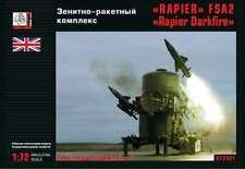 "1/72 ""Rapier"" Fsa2 ""Rapier Darkfire"" Air defense system Gran 72321 Models kits"