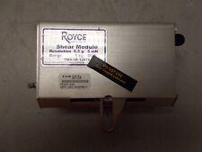 New listing Royce Instruments Tms-5K-12678 5Kg Shear Module