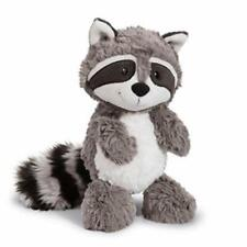 "Big Tail Gray Raccoon Plush Doll Stuffed Animal Soft Toy 10"""