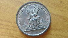 MEDAGLIA IV ESPOSIZIONE NAZIONALE TORINO 1880 ARTI diametro 5 cm SUBALPINA AAA