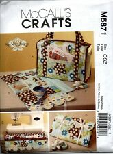 McCall's Sewing Pattern 5871 Kay Whitt Design Project Tote Room Organizer NEW