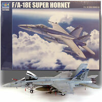 03204 1/32 Airpalne Model Jet US FA-18E Super Hornet Warcraft Static Trumpeter