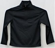 Chaps Boys School Approved Performance Quarter Zip Navy Shirt M(10-12)