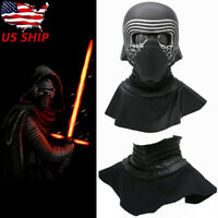 Kylo Ren Neck Seal Scarf Cosplay Costume Star Wars Prop Leather Halloween Xmas