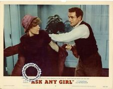 Shirley MacLaine, Rod Taylor Lobby Card ASK ANY GIRL (1959) Get Signed, Rom-Com!