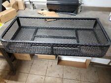 NOS Amacker Black Steel Carrier Luggage Rack Honda ATC200E