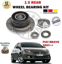 FOR FIAT BRAVO + VAN 2007--> NEW 1 X REAR WHEEL BEARING KIT WITH SENSOR RING