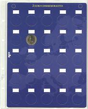 195/4] KIT INSERTI  PAGINA PER 100 MONETE 2 EURO COMMEMORATIVI (CONF. 4 PAGINE)