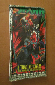 Spawn trading cards six packs 1995