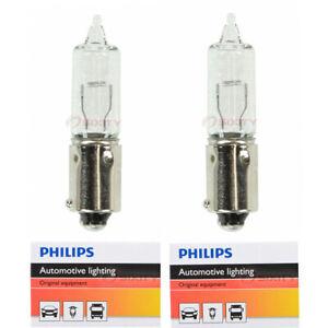 2 pc Philips Front Turn Signal Light Bulbs for Volkswagen Amarok Beetle ge