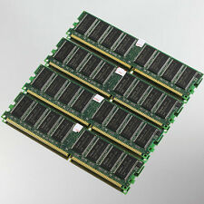 NEW 4GB 4x1GB DDR400 PC3200 Low-Density memory 400MHZ NON-ECC For Intel chipset