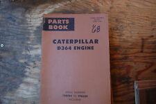 CAT Caterpillar D375 Engine Parts Manual book catalog spare list index OEM 1971