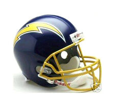 SAN DIEGO CHARGERS 1974-87 RIDDELL DELUXE NFL FOOTBALL THROWBACK HELMET