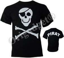 MAGLIETTA TESCHIO PIRATA JOLLY ROGER S03 T SHIRT XL