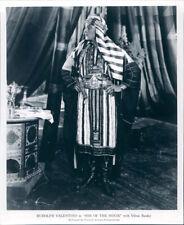 RUDOLPH VALENTINO SON OF THE SHEIK 8X10 PHOTO