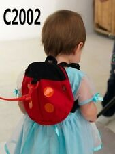Baby Girls Toddlers Kids Children Ladybug Keep safety Bag harness walk strap