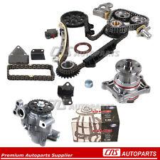 Timing Chain Kit Water & Oil Pump H25A H27A 99-06 Suzuki Chevy 2.5L 2.7L Engine