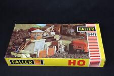 W009 FALLER Train Maquette Ho B-147 Station chargement grue + 635 moteur electro