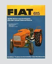 FIAT 615 Schlepper TraktorOrginal 1967
