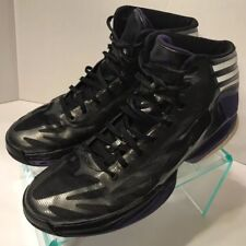 Adidas Adizero Crazy Light 2 Basketball Mid Ghost Shadow Shoes Men's Size 10.5