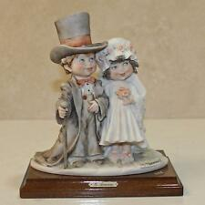Giuseppe Armani #0132C Bride And Groom Wedding Day Figurine Brand Nib Rare F/Sh