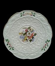 Donegal China Embossed Irish Parian Wendy Walsh 1994 Christmas Plate limited edi