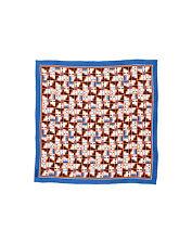 Fendi Monster/ Buggie/ Qutweet 100% Silk Scarf Size : 26 X 26