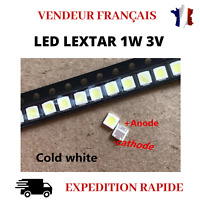 10PCS LED DE REPARATION LEXTAR 3030 1W 3V 80-90 POUR RETROECLAIARGE TV BACKLIGHT