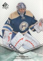 2011-12 SP Authentic Hockey #117 Steve Mason Columbus Blue Jackets