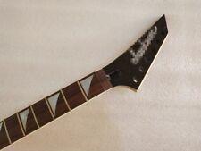 Reverse head Guitar Neck Maple 24 Fret  Floyd rose nut Jackson style