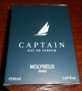 """eau de parfum homme MOLYNEUX """"captain"""" 50 ml - sous blister"""