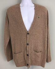 Lacoste Cardigan Men's Wool Blend Sweater Sz 5/L (b)