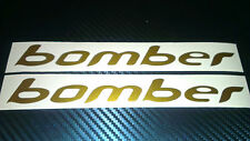 2 BOMBER Decalcomanie Adesivi bici fork