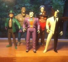 Batman Animated Series Rogues Gallery Action Figure Lot -- Joker, Two Face, etc.