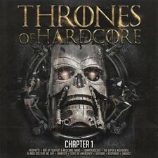 THRONES OF HARDCORE = Neophyte/Quitara/Viper/Amnesys...=2CD= HARDCORE GABBER !!