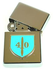 40 COMMANDO ROYAL MARINES  WINDPROOF CHROME PLATED LIGHTER