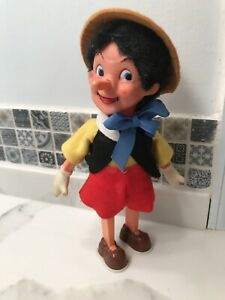 Vintage Disney Pinocchio 1940's Wind Up Toy Antique!