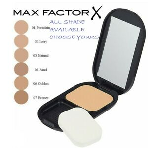 Max Factor Facefinity Compact Foundation 10g - Choose Shade - UK SELLER (NEW)