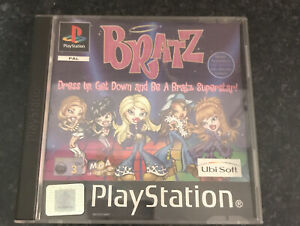 PS1 Sony - BRATZ DRESS UP GET DOWN AND BE A BRATZ SUPERSTAR - WITH INSTRUCTIONS