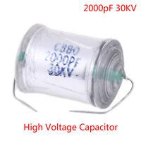 2000pF 30KV DC high voltage condenser capacitor for marx generator hv ham radio`