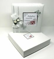 Wedding Day Photo Album Boxed Personalised Limited Edition | Cellini Albums #1
