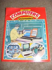 St Michael Quizmasters Book on Computers 1983 retro book from computer's infancy