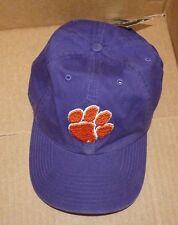 NEW NCAA Clemson Tigers Women Ladies Clean Up Cap Structured Brim 47 Brand NWT