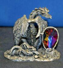 "Tudor Mint Myth & Magic, ""The Majestic Dragon"" - 3116, Pewter, Good condition"