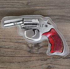 Taschenwärmer Handwärmer Pistole Revolver Karneval Fasching Wärmekissen Cowboy