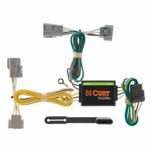 Curt 55513 Custom 4-Pin Trailer Wiring Harness For Toyota Tacoma T100 Hilux NEW